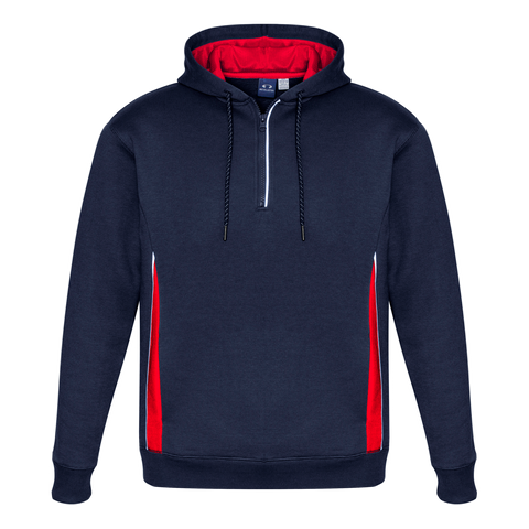Adults Renegade Hoodie, Colours: Navy / Red / Silver