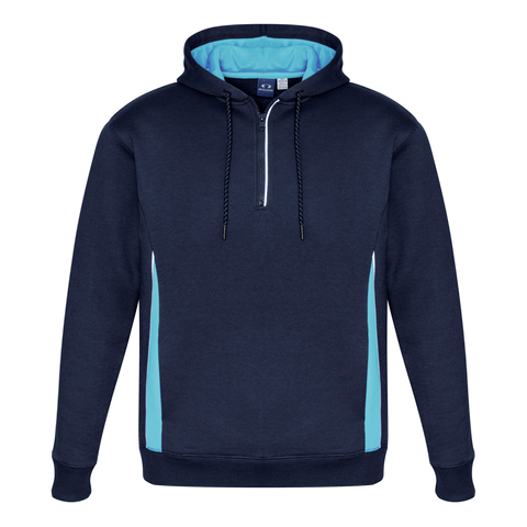 Image of Adults Renegade Hoodie, Colours: Navy / Sky / Silver