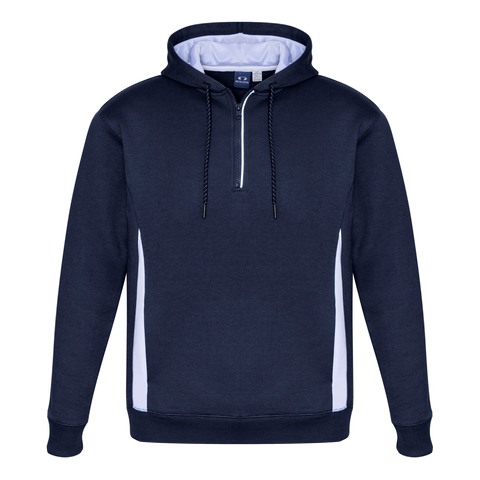 Image of Adults Renegade Hoodie, Colours: Navy / White / Silver