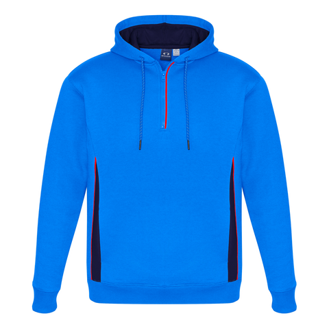 Image of Adults Renegade Hoodie, Colours: Royal / Navy / Fl Orange