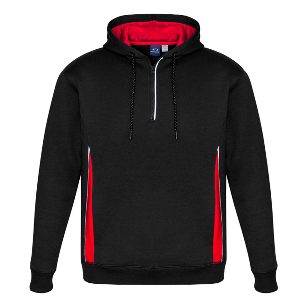 Kids Renegade Hoodie, Colours: Black / Red / Silver