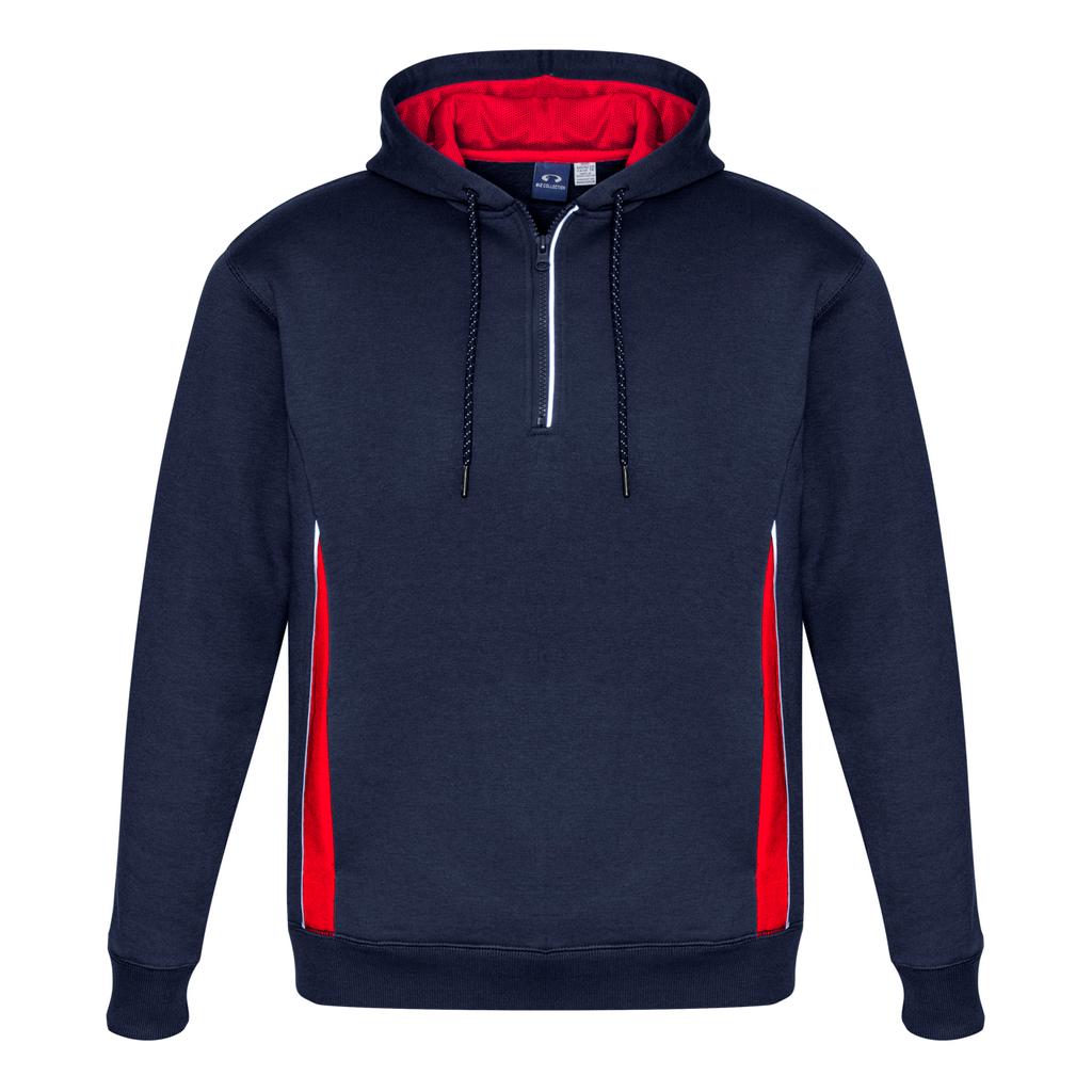 Kids Renegade Hoodie, Colours: Navy / Red / Silver