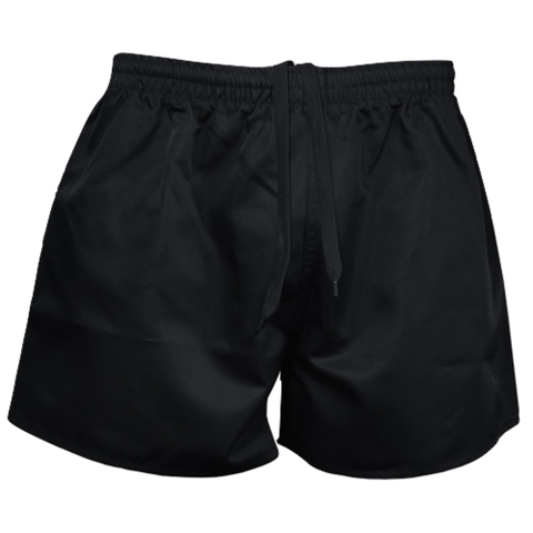 Kids Rugby Short - AP, Colour: Black