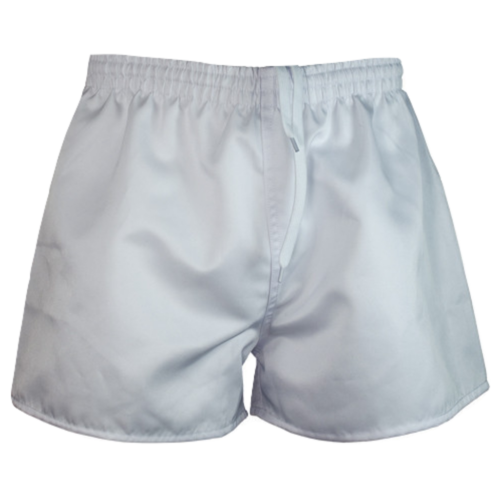 Kids Rugby Short - AP, Colour: White