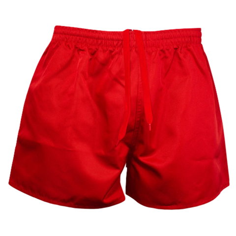 Image of Rugby Short - AP - Colour Red