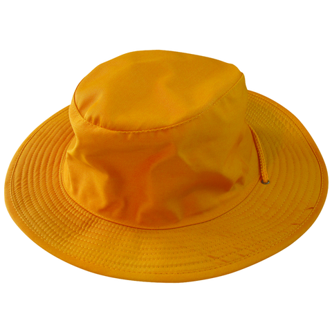 Safari Wide Brim Hat, Size: XL, Colour: Gold