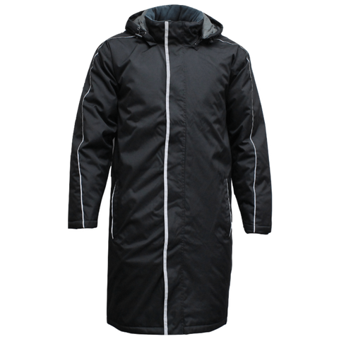 Adults Sideline Jacket, Colour: Black