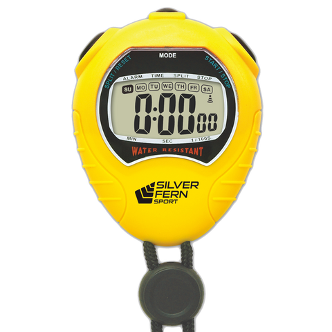 Image of Silver Fern Stopwatch - Large Display