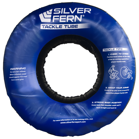 Silver Fern Tackle Tube - Size Jumbo - Colour Black