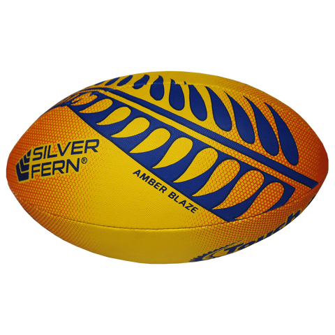 Silver Fern Touch Trainer Ball, Style: Amber Blaze