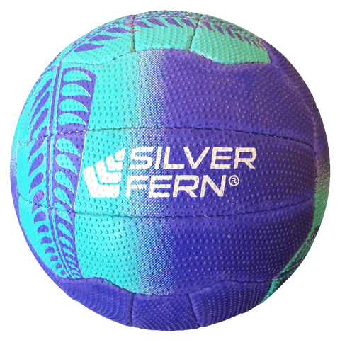 Silver Fern Tui Netball - Colours Purple with Blue
