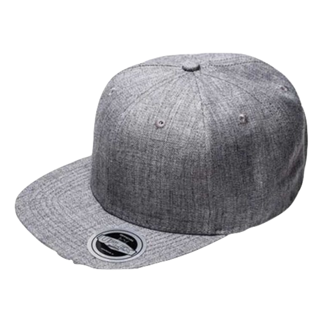 Kids Snap Back 6 - Colour Grey Melange