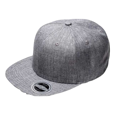 Image of Kids Snap Back 6 - Colour Grey Melange