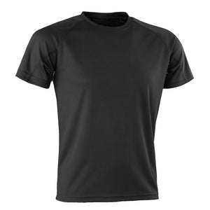 Kids Spiro Impact Tee, Colour: Black
