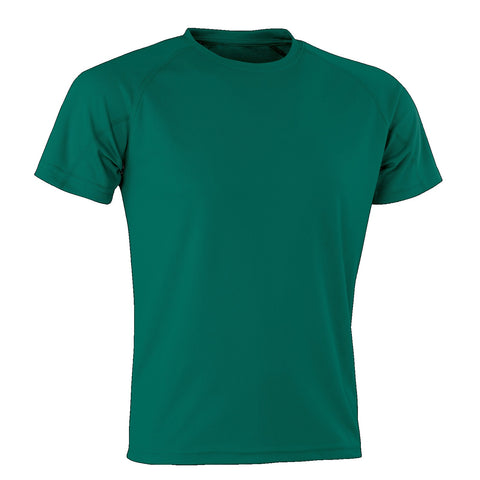 Kids Spiro Impact Tee, Colour: Bottle