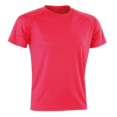 Image of Kids Spiro Impact Tee, Colour: Fluro Pink