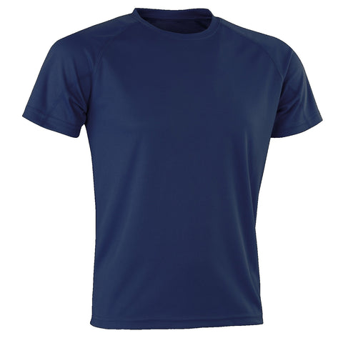Kids Spiro Impact Tee, Colour: Navy