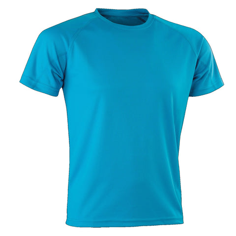 Kids Spiro Impact Tee, Colour: Ocean