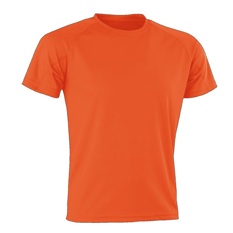 Kids Spiro Impact Tee, Colour: Orange