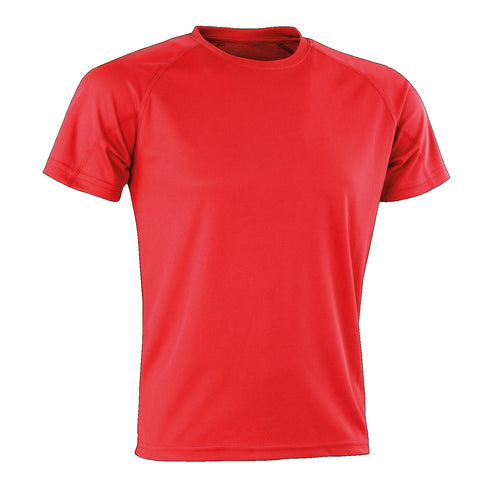Kids Spiro Impact Tee, Colour: Red