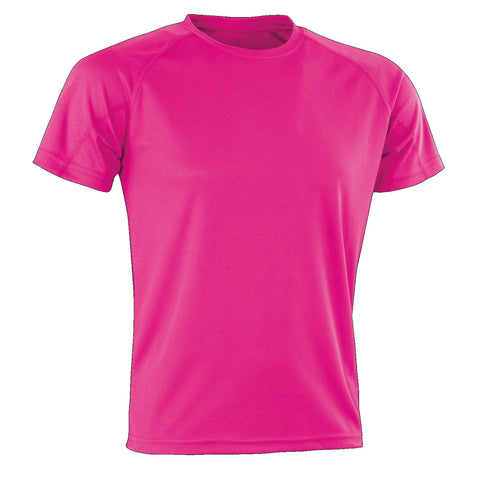 Kids Spiro Impact Tee, Colour: Super Pink