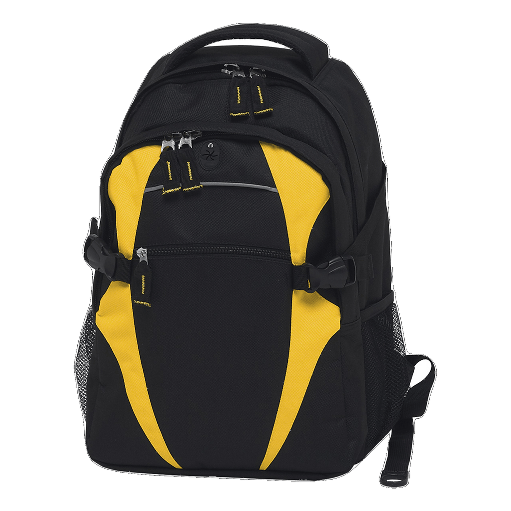 Spliced Zenith Backpack - Colours Black / Gold