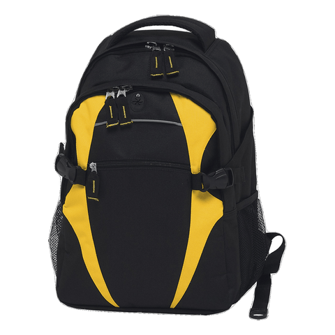Image of Spliced Zenith Backpack - Colours Black / Gold