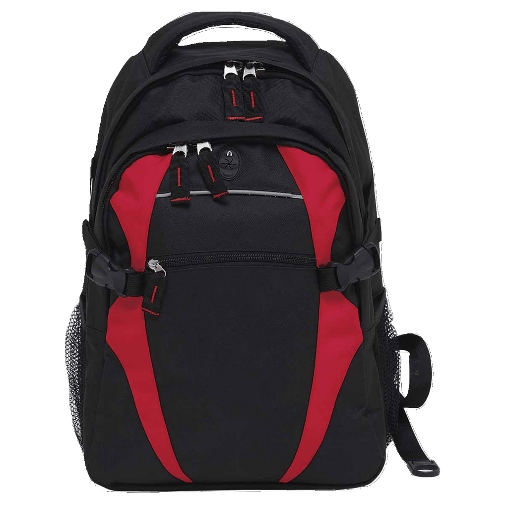 Spliced Zenith Backpack - Colours Black / Red