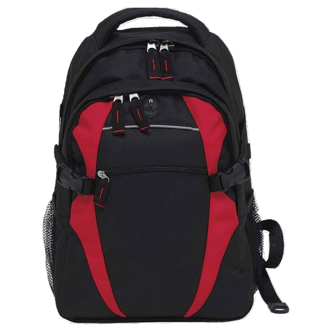 Image of Spliced Zenith Backpack - Colours Black / Red
