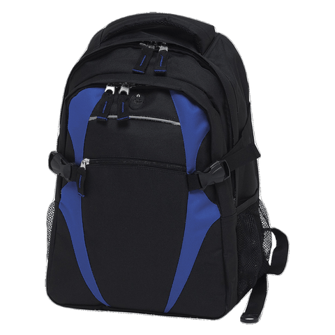 Image of Spliced Zenith Backpack - Colours Black / Royal