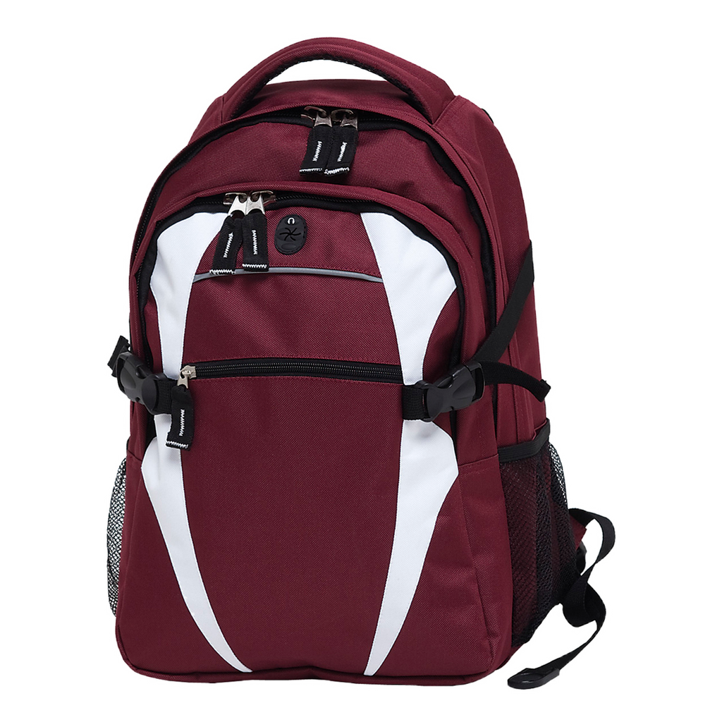 Spliced Zenith Backpack - Colours Maroon / White