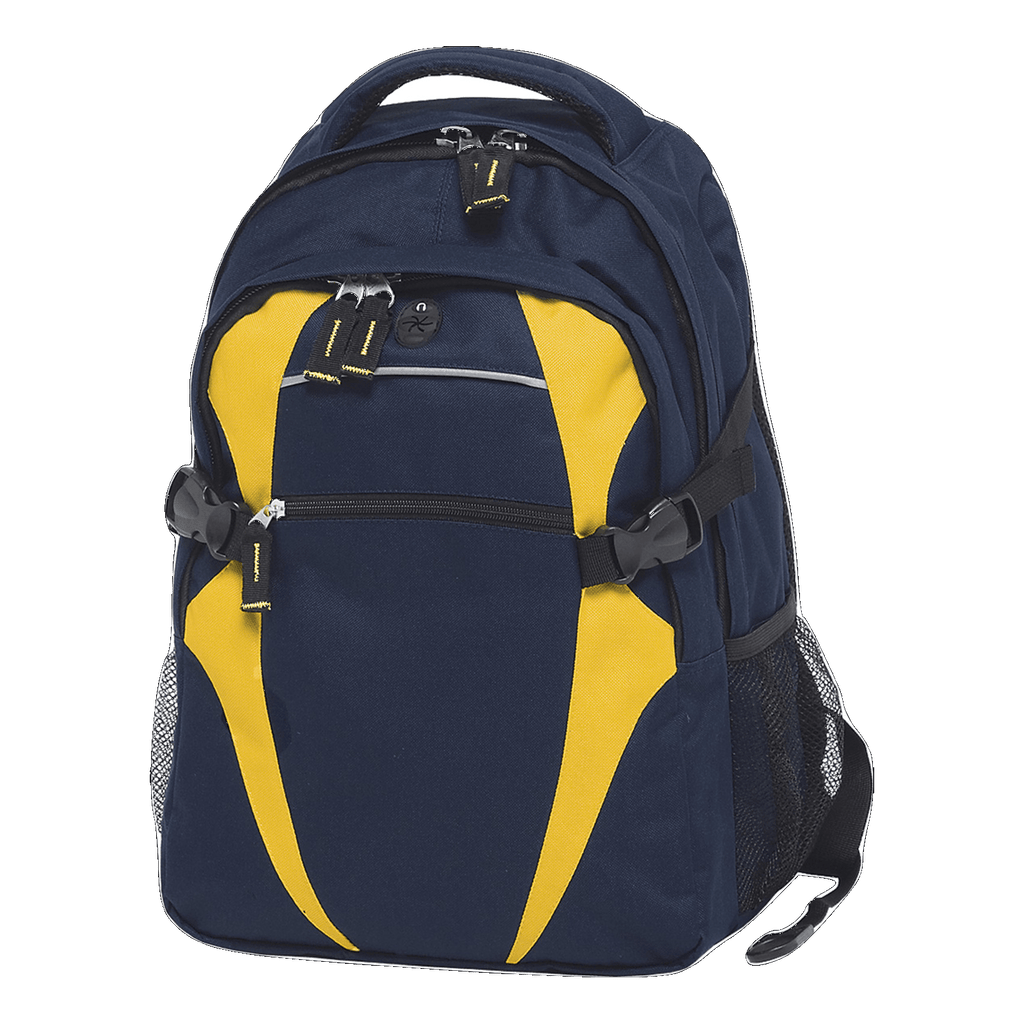 Spliced Zenith Backpack - Colours Navy / Gold
