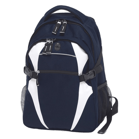 Image of Spliced Zenith Backpack - Colours Navy / White