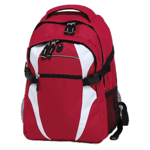 Image of Spliced Zenith Backpack - Colours Red / White