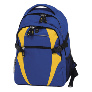 Spliced Zenith Backpack - Colours Royal / Gold