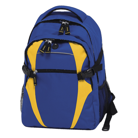 Image of Spliced Zenith Backpack - Colours Royal / Gold