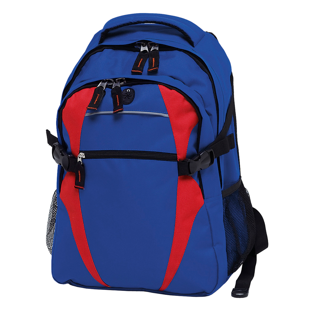 Spliced Zenith Backpack - Colours Royal / Red