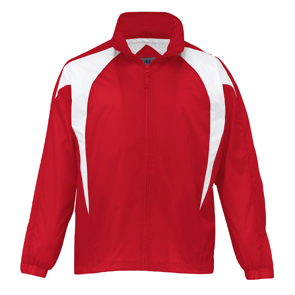 Kids Spliced Zenith Jacket, Colours: Red / White