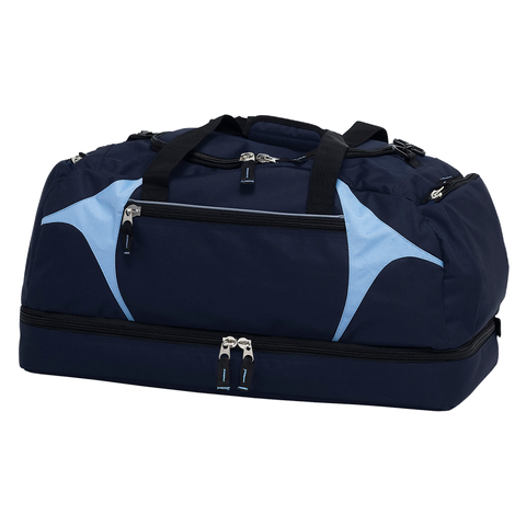 Image of Spliced Zenith Sports Bag - Colours Navy / Sky