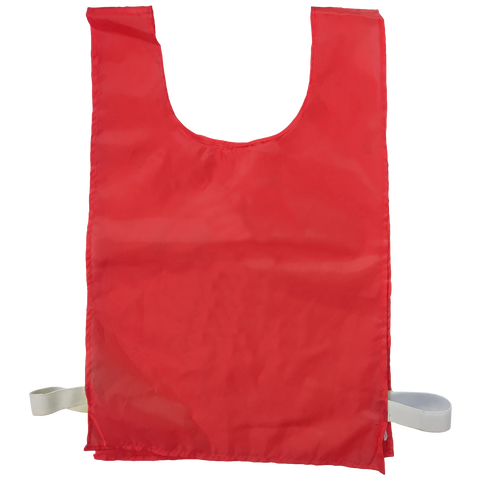 Sports Bib - Blank - Size XL (56 x 38 cm) - Colour Red