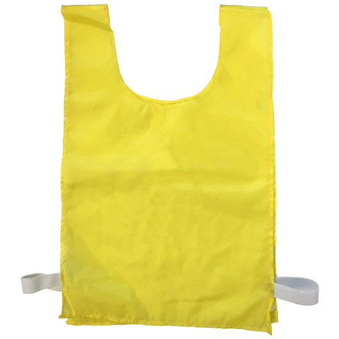 Sports Bib - Blank - Size XL (56 x 38 cm) - Colour Yellow