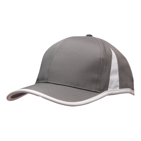 Sports Ripstop with Inserts and Trim, Colours: Charcoal / White