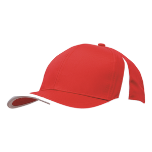 Sports Ripstop with Inserts and Trim - Colours Red / White