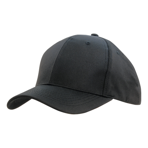 Image of Sports Ripstop with Sandwich Trim, Colours: Charcoal / Black