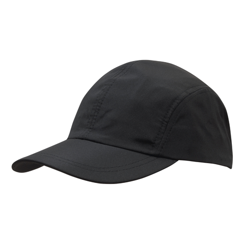 Image of Sports Ripstop with Towelling Sweatband, Colour: Black