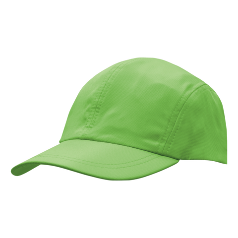 Image of Sports Ripstop with Towelling Sweatband - Colour Bright Green