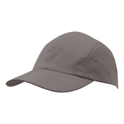Image of Sports Ripstop with Towelling Sweatband, Colour: Charcoal