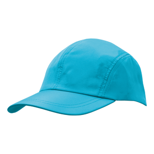Sports Ripstop with Towelling Sweatband - Colour Cyan