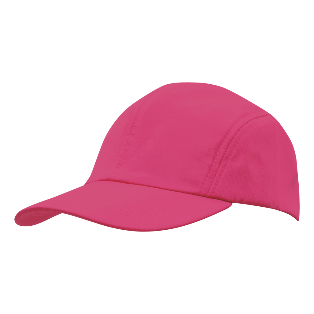 Sports Ripstop with Towelling Sweatband - Colour Hot Pink