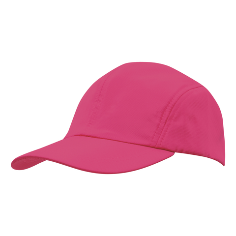 Image of Sports Ripstop with Towelling Sweatband - Colour Hot Pink